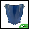 Blue Smoke ABS Plastic Motorcycle Windshield for H...