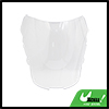 ABS Plastic Clear Motorcycle Windscreen Windshield...