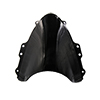 Black ABS Plastic Motorcycle Windshield for 2004-2...