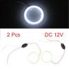 2pcs Universal Car 60mm Projector Lens LED COB Hal...