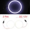 2pcs Universal Car 110mm Projector Lens LED COB Ha...