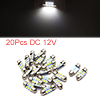 20pcs White LED Car Bulb 31mm Festoon 6 1210 SMD D...
