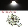 30pcs White LED Car Bulb 36mm Festoon 6 1210 SMD D...