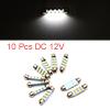 10pcs White LED Car Bulb 41mm Festoon 12 1210 SMD ...