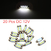 20pcs White LED Car Bulb 39mm Festoon 3 5050 SMD D...