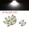 10pcs 39mm 16 LED 1210 SMD Festoon Dome Light Car ...