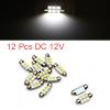 12pcs 36mm 6 LED 5050 SMD Festoon Dome Light Car I...