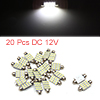 20pcs 39mm 16 LED 1210 SMD Festoon Dome Light Car ...