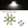 10pcs 36mm 6 LED 5050 SMD Festoon Dome Light Car I...