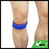 Blue Adjustable Hook Loop Closure Knee Brace Suppo...