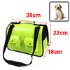 Outdoor Travel Faux Leather Foldable Meshy Two Poc...