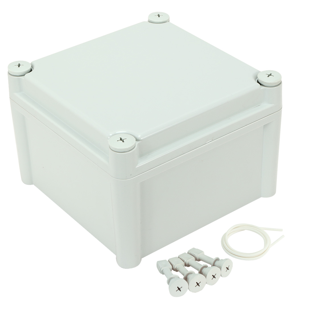 7.48&#034;x7.48&#034;x5.<wbr/>11&#034; ABS Dustproof IP65 Junction Box Universal Project Enclosure