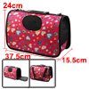 Outdoors Travel Nylon Heart Print Meshy Zipper Clo...