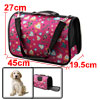 Outdoors Travel Nylon Heart Print Meshy Window Zip...