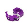 Purple Eagle Mouth Design Handlebar Mounting Helme...