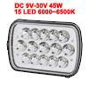 45W DC 9V-30V 15 LED Bulb Spotlight Working Lamp f...
