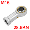 PHS16 Economy Female Right Hand Rod End Bearing Si...