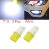 2Pcs T10 3D White LED Car Panel Reading Light Inte...