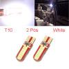 2Pcs T10 Car Dashboard White Light Lamp Bulbs Inte...