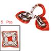 k176 women novelty chain prints square n...