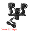 Photographic Wired Flash Shoe Bracket with Double ...