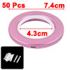 Dormitory Round Window Curtain Drapery Rod Hanging...