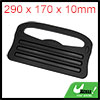 290 x 170 x 10mm Black Plastic Car Steering Wheel ...
