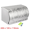 200mmx120mmx118mm Stainless Steel Polished Finish ...
