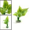 Green Plastic Aquatic Leaves Plant Betta Tank Wate...