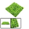 Green Plastic Grass Lawn Aquarium Fish Tank Landsc...