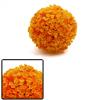 Orange Plastic Grass Ball Aquarium Aquascape Decor...
