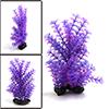 Purple Plastic Plant Aquarium Fish Tank Aquascape ...