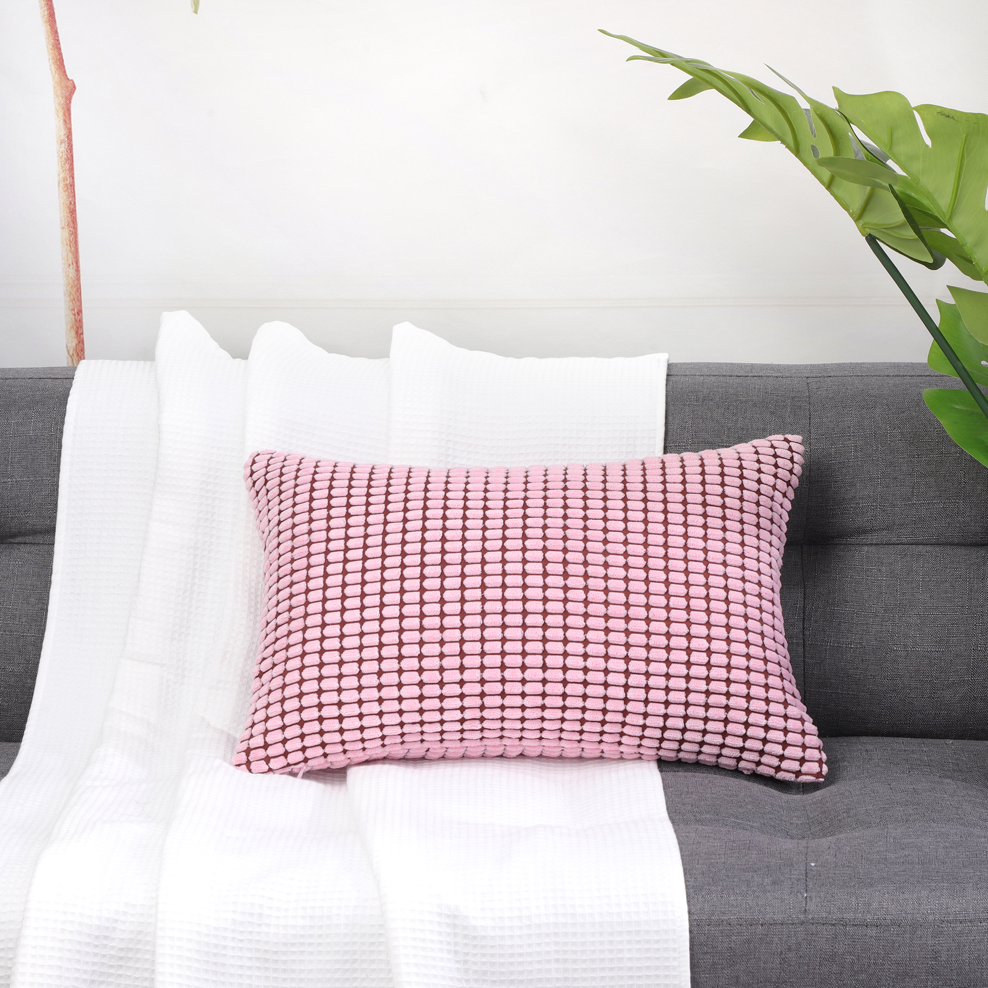 Rectangle-Pillow-Cases-Throw-Pillow-Cover-Christmas-Gift-Cushion-Cover-12-034-x-18-034 thumbnail 16