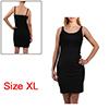 Women Sexy Basic Stretchy Sleeveless Skinny Slim B...