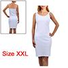 Women Basic Stretchy Sleeveless Skinny Slim Bodysu...