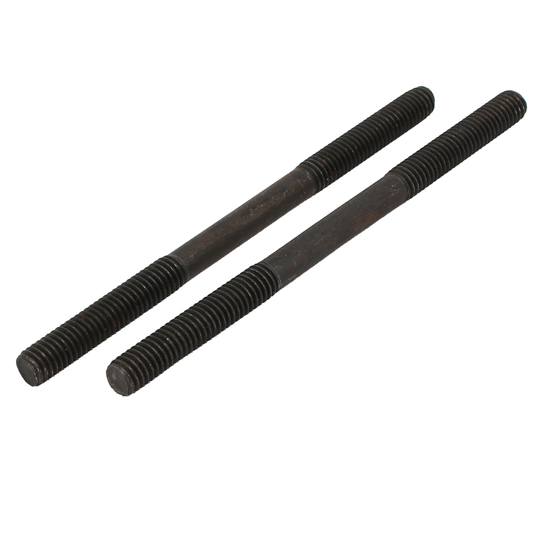 3/8'' Thread 6'' Length Carbon Steel Double End Stud 2pcs