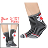 Kids 6 Pack Christmas Holiday Socks Baby Gift Cott...