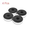 4pcs Silver Tone Plastic CD Player Speaker Amplifi...
