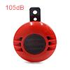 105dB Red Metal Loud Horn Electric Siren Trumpet f...
