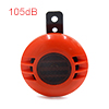 105dB Orange Metal Loud Horn Electric Siren Trumpe...
