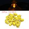 20pcs Yellow LED 12V B8.3 Car Dashboard Gauge Pane...