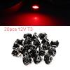 20pcs 12V T3 Red LED 1210 SMD Car Dashboard Light ...