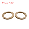 "2Pcs 6.5"" Wood Car Speaker Mounting Spacer Ring Ad..."