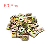 60Pcs Bronze Tone Metal Motorcycle Fairing Bolts U...