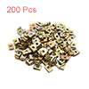 200Pcs Bronze Tone Metal Motorcycle Fairing Bolts ...