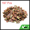 197Pcs Speed Fastener U Nuts Car Dashboard Panel S...