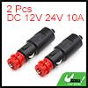 2pcs Wireless Car Power Cigarette Lighter Socket A...