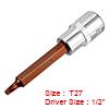 1/2-Inch Drive T27 Torx Bit Extra Long Socket, S2 ...