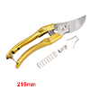 8-Inch Bypass Pruning Shears, Professional Garden ...