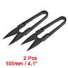2Pcs 4.1-inch Sewing Trimming Scissors Nipper Embr...